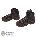 Boots: DamToys Mens GTX Brown Boots