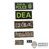 Insignia: DamToys DEA Patch Set