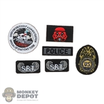 Insignia: DamToys DEA Patch Set (Peel + Stick)