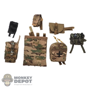 Pouch: DamToys 7 Piece Pouch + Panel Set