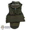 Vest: DamToys Mens Green Defender 2 MOLLE w/Groin Protector