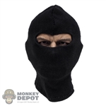Mask: DamToys Mens Black Balaclava