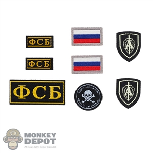 Insignia: DamToys Spetsnaz FSB Alpha Group Patch Set