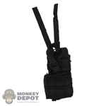 Holster: DamToys Black MOLLE Pistol Holster