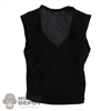 Shirt: DamToys Mens Black V-Neck Tank Top