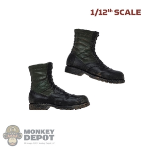 Boots: DamToys 1/12th Mens Molded Jungle Boots