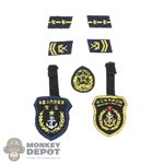 Insignia: DamToys PLA Navy Marine Corps Patch Set