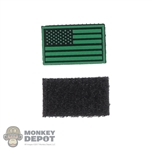 Insignia: DamToys US Flag Patch (Green)