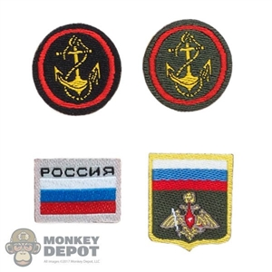 Insignia: DamToys Russian Naval Patch Set