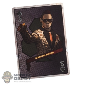 Tool: DamToys 1:1 Three of Clubs Perk Chen Card