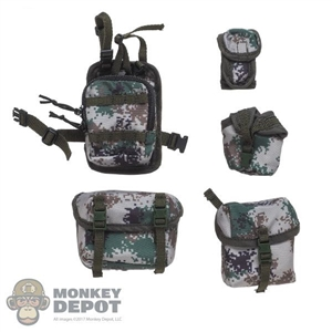 Pouch: DamToys 5 Piece Type 7 Camo Pouch Set