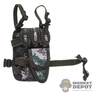 Holster: DamToys Drop Leg Panel w/Pistol Holster (Type 7 Camo)