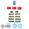 Insignia: DamToys UN Peacekeeper Patch Set