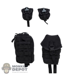 Pouch: DamToys 4 Piece Black Pouch Set (MOLLE)