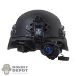 Helmet: DamToys Mens Black MICH w/AN/PVS-14