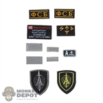 Insignia: DamToys Russian Patch Set