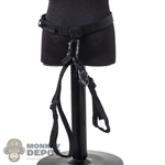 Belt: DamToys Black Mens Tactical Rappelling Harness