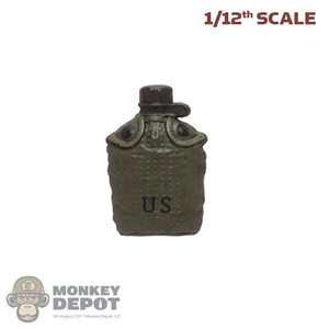 Canteen: DamToys 1/12th Molded M1956 Canteen w/Pouch