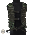 Vest: DamToys Mens 6SH117 MOLLE Tactical Vest Digital Flora