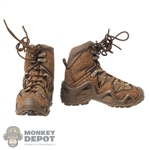Boots: DamToys Mens Brown GTX Boots