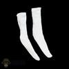 Socks: DamToys Mens White Socks