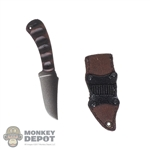 Knife: DamToys Winkler Belt Knife w/Leather Sheath
