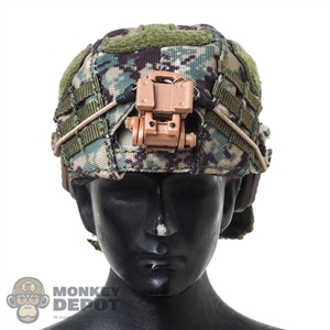 Helmet: DamToys Mens FAST Bulletproof High Cut w/AOR2 Helmet Cover