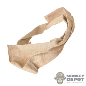Scarf: DamToys Beige Scarf (Weathered)