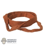 Belt: DamToys Brown Cloth Belt