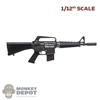 Rifle: DamToys 1/12th Model 607 CAR-15 SMG w/Extra Stock
