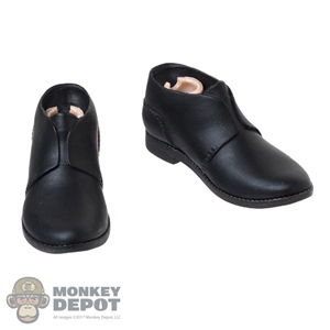 Boots: DamToys Mens Molded Black Boots