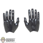 Hands: DamToys Mens Solid Black Bendy Hands