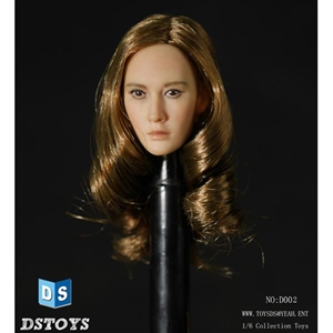 Head: DS Toys Female Head with Long Hairstyle B (DS-D002B)