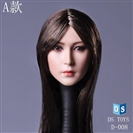 Head: DS Toys Female Head w/Black Hair (DS-D008A)