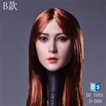 Head: DS Toys Female Head w/Red Hair (DS-D008B)