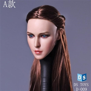 Head: DS Toys Female Head Long Hair (DS-D009A)