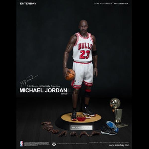 more photos 10e41 821fb PREORDER Boxed Figure: Enterbay Michael Jordan - Home Jersey Edition  (RM-1052)
