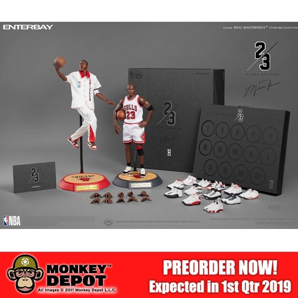 newest 28951 e2d1e PREORDER Boxed Figure: Enterbay 1/6 Scale Michael Jordan Final Limited  Edition (RM-1081)