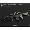 Rifle Set: Easy & Simple Green Wolf Gear Sniper British Rifle L129A1 (Black)