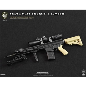 Rifle Set: Easy & Simple Green Wolf Gear Sniper British Rifle L129A1