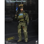 Boxed Figure: E&S F.B.I. Hostage Rescue Team Training Version (ES-26014B)