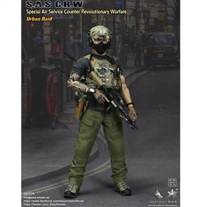 Boxed Figure: E&S S.A.S Counter Revolutionary Warfare Urban Raid (ES-26022R)