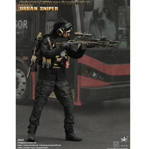 Boxed Figure: E&S Private Military Contractor Urban Sniper (ES-26025)