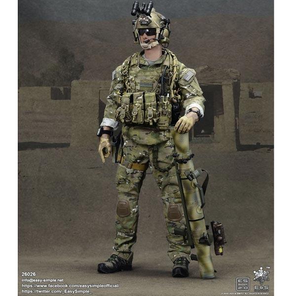 EASY/&SIMPLE ES26037 1//6 SMU Ranger Regimental Reconnaissance Company Chapter