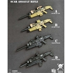 Rifle Set: E&S SCAR Assault Rifle (GA0003)