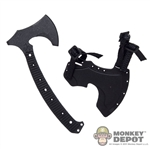 "Ax: Easy & Simple RMJ Tactical ""Berserker"" Tomahawk w/Kydex Sheath"