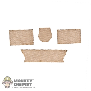Tool: Easy & Simple Tan Velcro Set