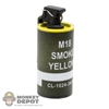 Grenade: Easy & Simple M18 Smoke Grenade Yellow