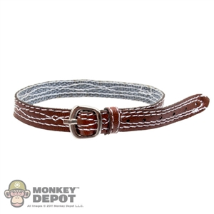 Belt: Easy & Simple Leather Brown Belt