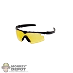 Glasses: Easy & Simple Yellow Tint Shooting Glasses